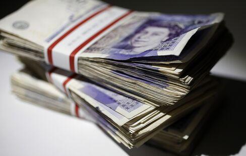 Pound Rallies on U.K. Growth as European Stocks Rise With Gold