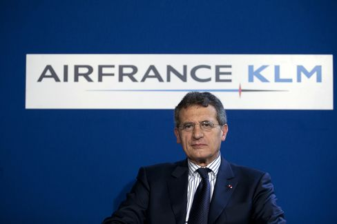 Air France-KLM Group CEO Jean-Cyril Spinetta