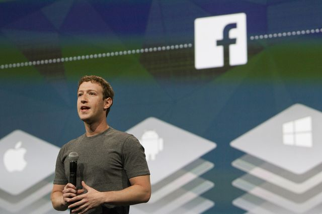 What does Mark Zuckerberg really know about you anyway? Photographer: Erin Lubin/Bloomberg