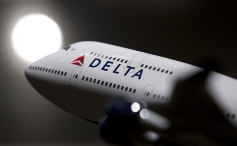 Delta Regains S&P 500 Membership Lost on Eve of 2005 Bankruptcy