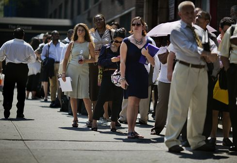 Jobless Claims in U.S. Fall More Than Forecast to Two-Month Low