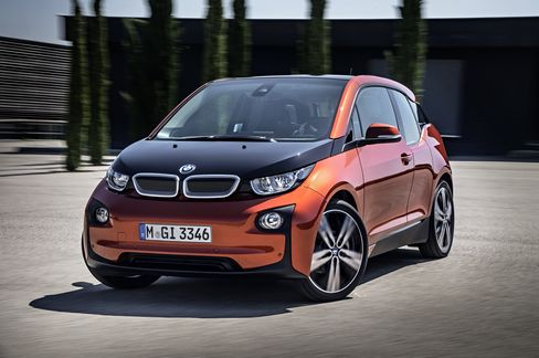 BMW's All-Electric I3