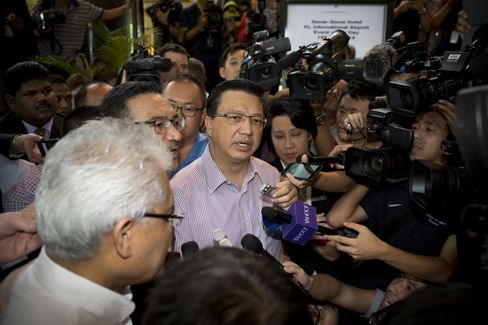 Malaysia's Transport Minister Liow Tiong Lai