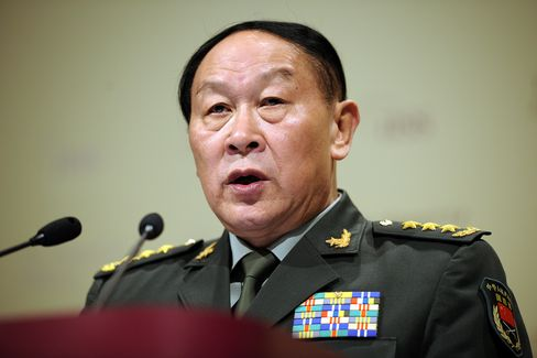 China's Defense Minister Liang Guanglie