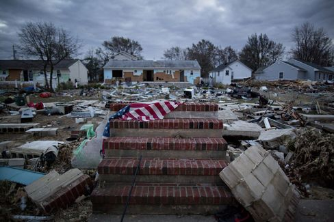 Aftermath Of Hurricane Sandy In Union Beach