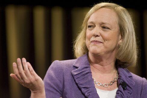 Hewlett-Packard Co. CEO Meg Whitman