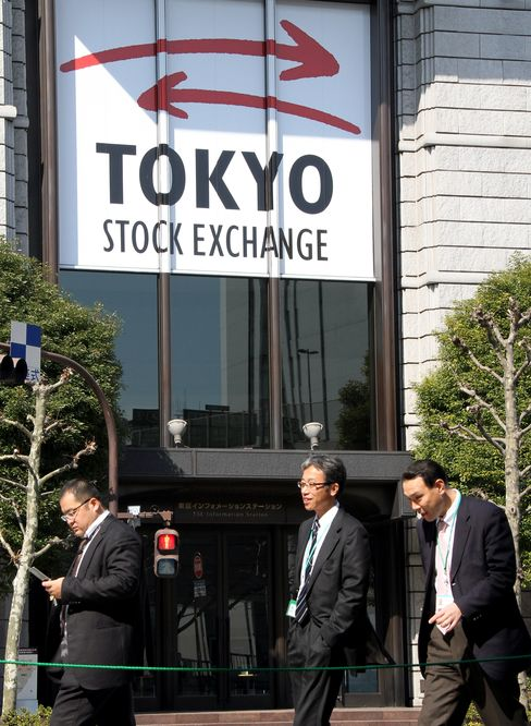 Japan Stocks Gain for Second Day