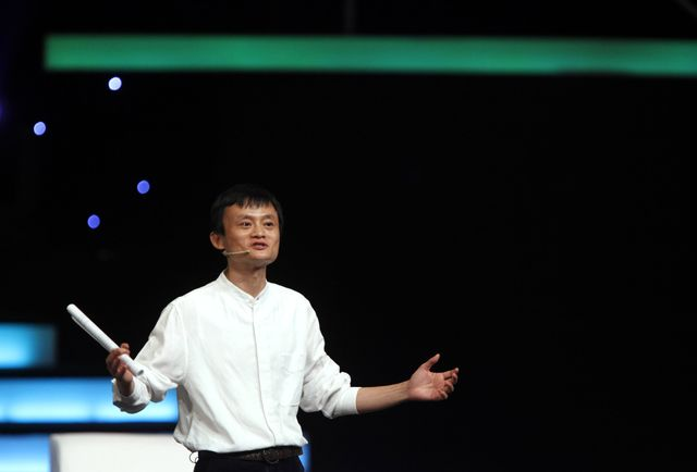 Jack Ma may have to tangle with the SEC. Photographer: Qilai Shen/Bloomberg