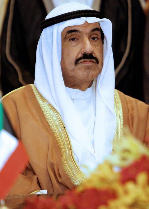 Kuwaiti Prime Minister Sheikh Nasser Al-Mohammed Al-Sabah