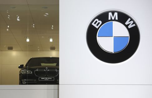 BMW Forecasts Unchanged 2013 Pretax Profit on Europe Market Drop
