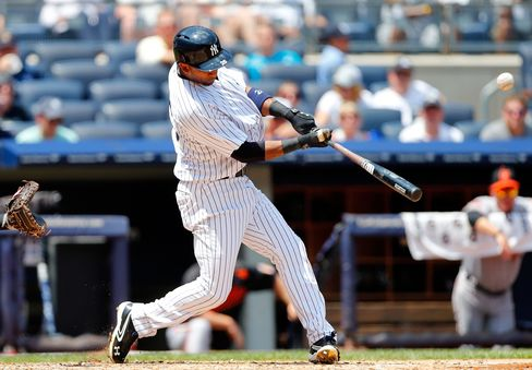 New York Yankees Player Eduardo Nunez