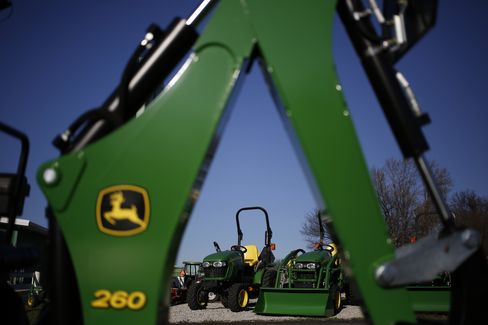 John Deere Tractors and Farm Equipment