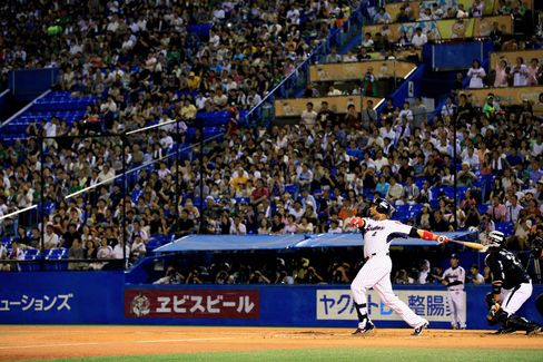 Yakult Swallows Player Wladimir Balentien