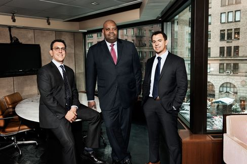 Browne is first among equals in the trio that runs ETF trading at Cantor Fitzgerald.  Photographer: Peter Yang/Bloomberg Markets