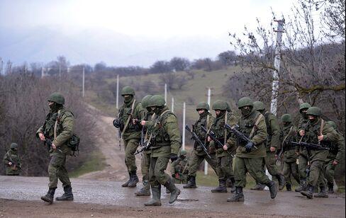 Russian Troops in Ukraine