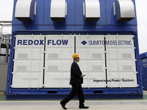 Japanese Battery Trial Seeks to Transform How Grids Work