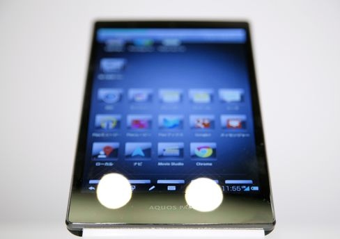 Sharp Jumps After Starting Smartphone Panel Output