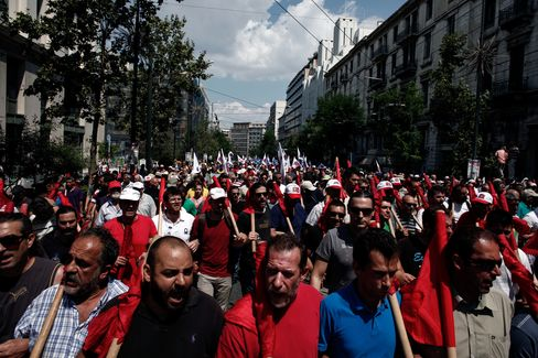 Greece's Labor Unions Hold General Strike Over State Job Cuts