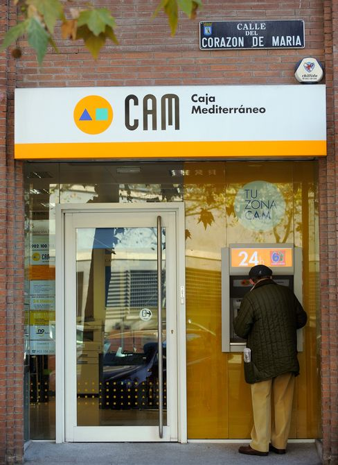 Sabadell Buys CAM for 1 Euro as Spain Banks Bail Out Caja