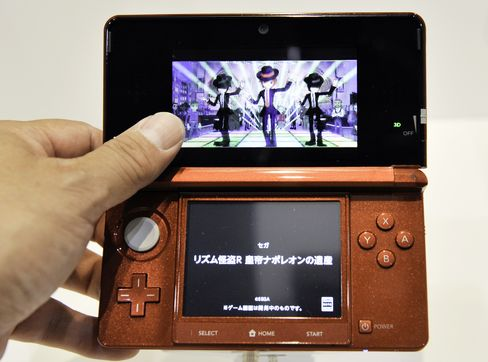Nintendo to Add Features, Target Women to Spur Sales of 3DS
