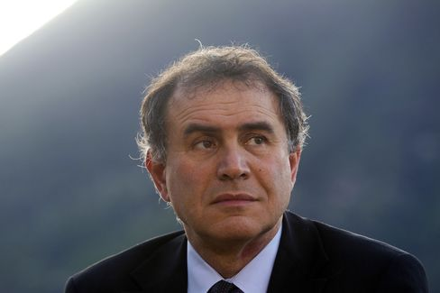 Roubini Global Chairman Nouriel Roubini
