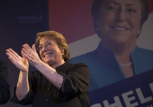 Former Chilean President Michelle Bachelet