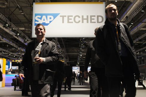 SAP Challenges Oracle by Boosting Flagship Software's Speed