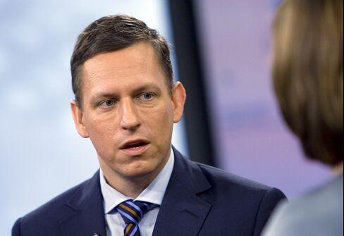 Peter Thiel of Clarium Capital Management