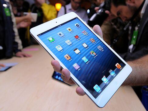 Apple IPad Mini Debut Leaves Rivals Room to Undercut Price