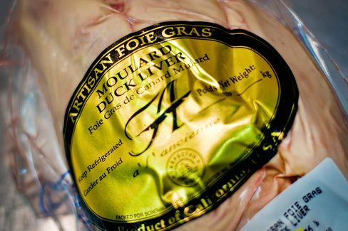 California's Foie Gras Lovers Seek to Duck Curbs on Delicacy
