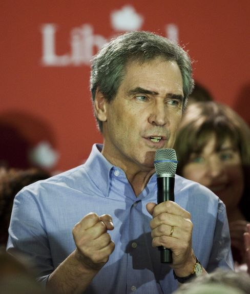 Canadian Opposition Liberal Party Leader Michael Ignatieff