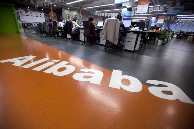Alibaba spurned the Hong Kong Stock Exchange for the bright lights of New York. Photographer: Nelson Ching/Bloomberg