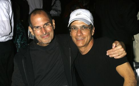 Apple Co-Founder Steve Jobs & Producer Jimmy Iovine
