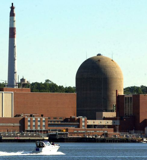 Entergy Corp.s two Indian Point reactors in New York are located at the intersection of two seismic zones. Photographer: Monika Graff/Getty Images