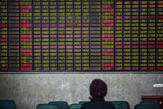<p>Chinese money for a U.S. exchange, U.S. tech for Chinese exchanges....</p>  Photographer: Qilai Shen/Bloomberg