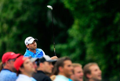 Golfer Sergio Garcia