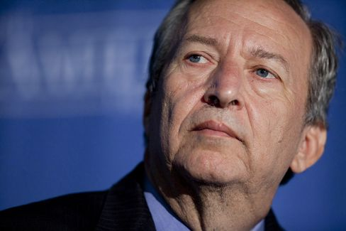 Former White House Economic Adviser Lawrence Summers