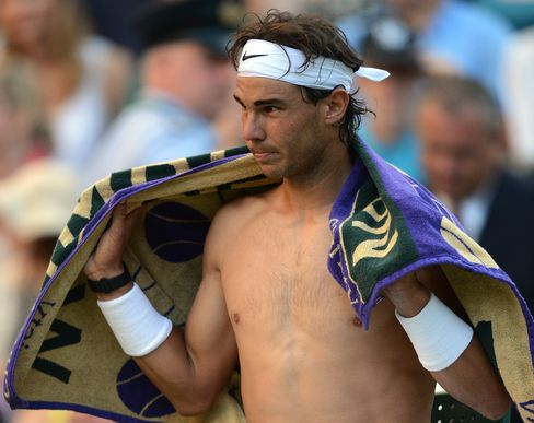 Defending Olympic Champion Rafael Nadal Out of London Olympics
