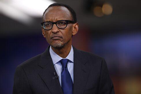 Rwandan President Paul Kagame