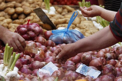 Euro-Region Inflation Slowed in April, March Exports Declined