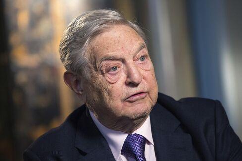 Soros Fund Management LL Founder George Soros