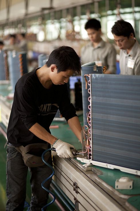 China Manufacturing Growth Accelerates