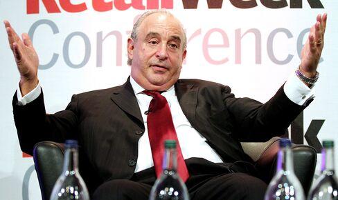 U.K. Retailing Billionaire Philip Green