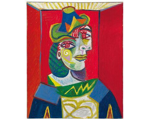 Pablo Picasso, Buste de femme (Femme à la résille), 1938