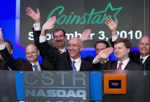 Coinstar Names CFO Di Valerio CEO in Shakeup as Davis Retires