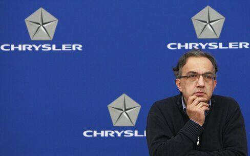 Marchionne's Chrysler Makeover Aids Fiat