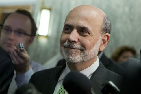 Bernanke Aims for Stock Gains as He Seeks to Boost Jobs: Economy