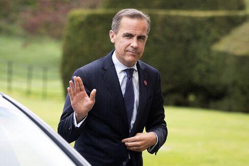 Incoming Bank of England Governor Mark Carney
