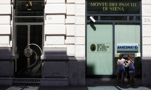 Monte Paschi Hid Documents on Deals, Bank of Italy Says