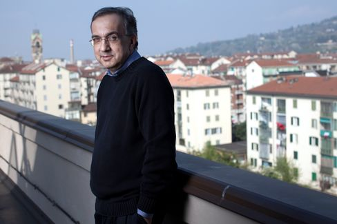 Fiat and Chrysler Chief Executive Officer Sergio Marchionne